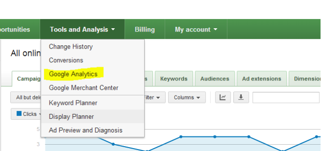 Google Adwords and Analytics