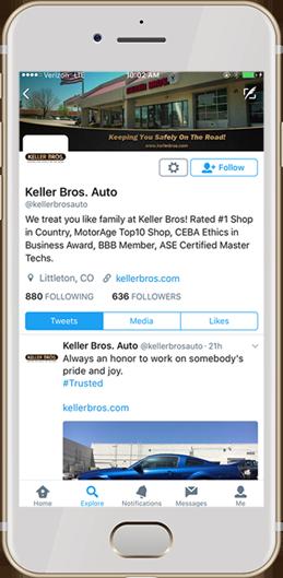 Social Media Keller Bros
