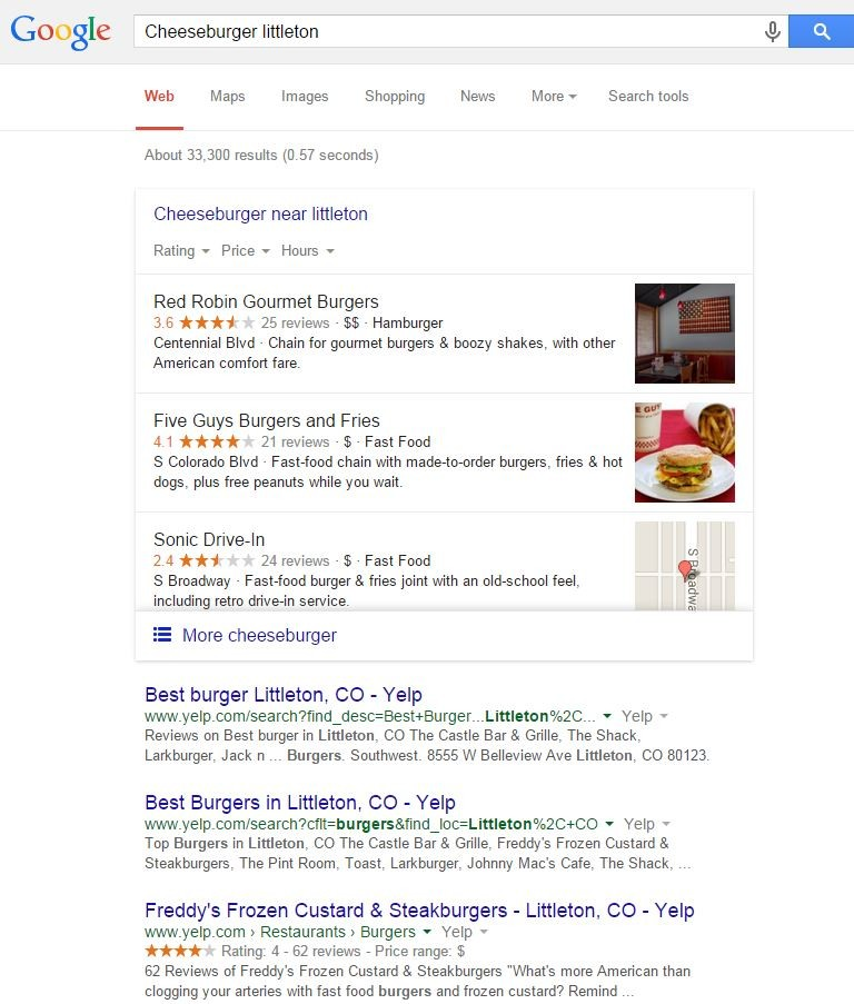 The new Google Lack pack shows only 3 listings. Get local search engine optimization help from Automated Marketing Group.