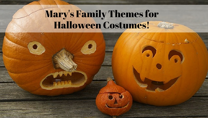 Mary's Family Themes for Halloween Costumes