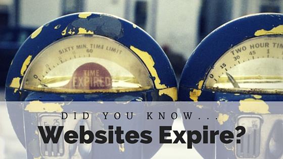 Websites Expire