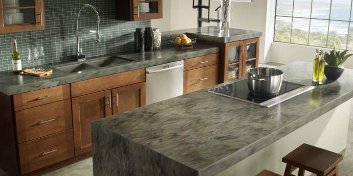 Solid Surface Corian Countertops