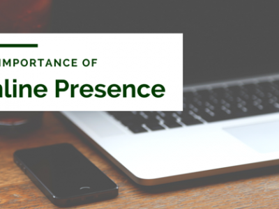 The importance of integrated Online Presence, combining social media, email, website, blog, and content marketing