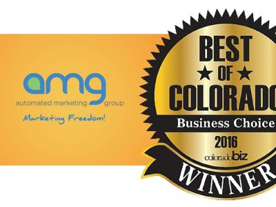 Automated Marketing Group in Denver wins Best Marketing Advertising Agency in Colorado